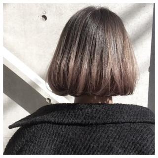 オルチャン タンバルモリ グレージュ 外国人風 ヘアスタイルや髪型の写真・画像