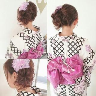 浴衣に合うヘアセット法♡浴衣美人は髪型でつくる!