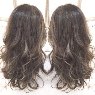 コンサバ 艶髪 外国人風 ハイライト ヘアスタイルや髪型の写真・画像