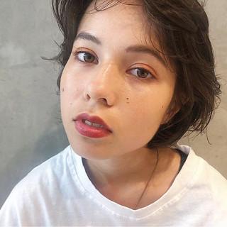 田中美保 ショートボブ 前下がり 大人女子 ヘアスタイルや髪型の写真・画像