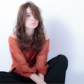 ロング ストリート 外国人風 秋 ヘアスタイルや髪型の写真・画像