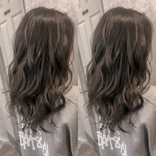 パーマ ガーリー ロング 冬 ヘアスタイルや髪型の写真・画像