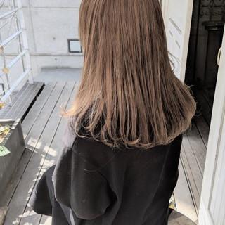ハイトーン ミルクティーベージュ ヘアアレンジ ダブルカラー ヘアスタイルや髪型の写真・画像 ヘアスタイルや髪型の写真・画像