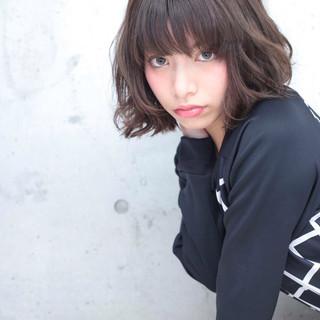ラフ ストリート ガーリー キュート ヘアスタイルや髪型の写真・画像