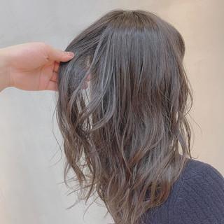 ロング ナチュラル 外国人風カラー ミディアムレイヤー ヘアスタイルや髪型の写真・画像