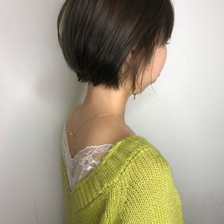 ハイライト 大人可愛い ショートヘア ナチュラル ヘアスタイルや髪型の写真・画像 ヘアスタイルや髪型の写真・画像