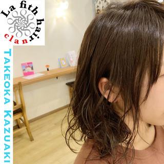 ボブ アディクシーカラー 透明感 ダメージレス ヘアスタイルや髪型の写真・画像