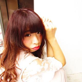 フェミニン ゆるふわ かわいい ストリート ヘアスタイルや髪型の写真・画像