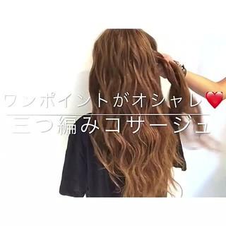雨の日 ヘアアレンジ エレガント 女子会 ヘアスタイルや髪型の写真・画像