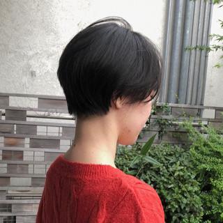 大人ショート ショート 大人かわいい ナチュラル ヘアスタイルや髪型の写真・画像