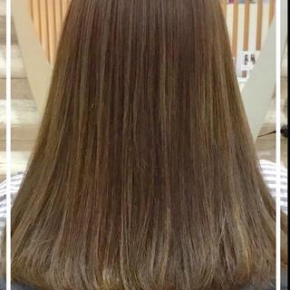 艶髪 エレガント トリートメント ロング ヘアスタイルや髪型の写真・画像
