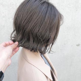 大人かわいい ボブ モテボブ オフィス ヘアスタイルや髪型の写真・画像