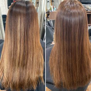 ブリーチオンカラー エレガント インナーカラー コントラストハイライト ヘアスタイルや髪型の写真・画像