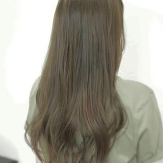 外国人風 フェミニン ゆるふわ ロング ヘアスタイルや髪型の写真・画像