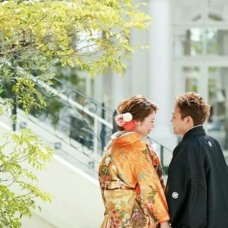 和装 ヘアアレンジ 花嫁 エレガント ヘアスタイルや髪型の写真・画像