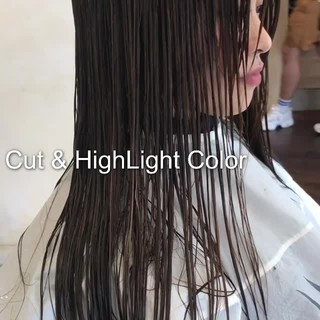 ミディアム ハイライト ナチュラル ヘアアレンジ ヘアスタイルや髪型の写真・画像