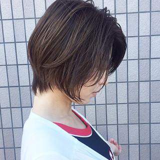 【つくば美容師】ショートヘア愛好家/矢崎 翔太さんのヘアスナップ