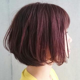 暗髪 前下がり ナチュラル 大人かわいい ヘアスタイルや髪型の写真・画像 ヘアスタイルや髪型の写真・画像