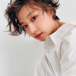 ハンサムショート 似合わせカット パーマ 阿藤俊也 ヘアスタイルや髪型の写真・画像
