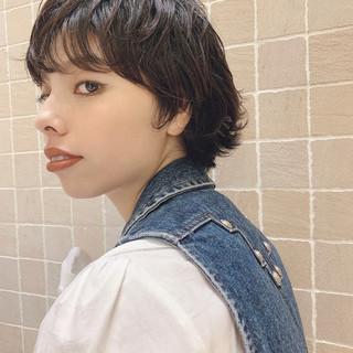 ハンサムショート ナチュラル ウルフカット 阿藤俊也 ヘアスタイルや髪型の写真・画像