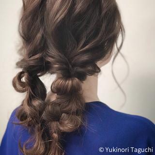 巻き髪 デート ヘアカラー セミロング ヘアスタイルや髪型の写真・画像 ヘアスタイルや髪型の写真・画像