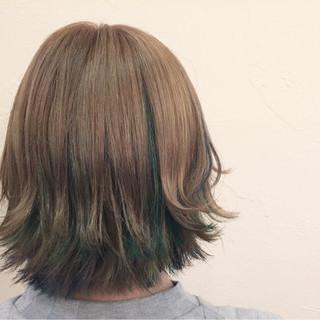 アッシュ 外国人風 ストリート ハイライト ヘアスタイルや髪型の写真・画像