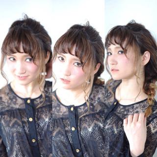 大人かわいい 簡単ヘアアレンジ ヘアアレンジ ハーフアップ ヘアスタイルや髪型の写真・画像