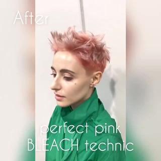 ピンク ショート ピンクアッシュ ベージュ ヘアスタイルや髪型の写真・画像