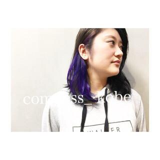 アッシュ アンニュイ ゆるふわ ストリート ヘアスタイルや髪型の写真・画像