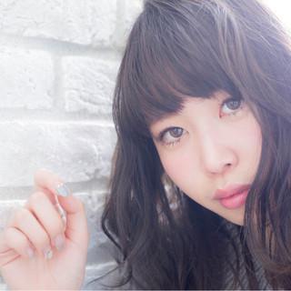 黒田彩水さんのヘアスナップ
