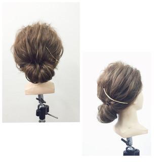 ショート ヘアアレンジ 簡単ヘアアレンジ 外国人風 ヘアスタイルや髪型の写真・画像