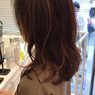 大人女子 エレガント 外国人風 ハイライト ヘアスタイルや髪型の写真・画像