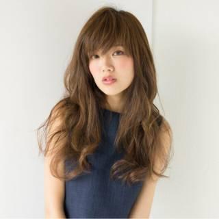 ゆるふわ ロング 愛され 大人かわいい ヘアスタイルや髪型の写真・画像