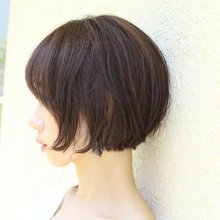 大人ショート 大人可愛い ショートボブ ミニボブ ヘアスタイルや髪型の写真・画像
