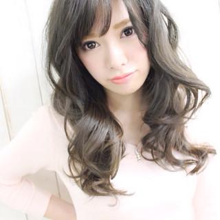 外国人風 ロング 春 モテ髪 ヘアスタイルや髪型の写真・画像
