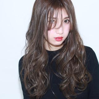 ガーリー ゆるふわ アッシュ フェミニン ヘアスタイルや髪型の写真・画像