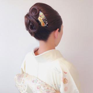 ロング エレガント アップスタイル ヘアアレンジ ヘアスタイルや髪型の写真・画像 ヘアスタイルや髪型の写真・画像