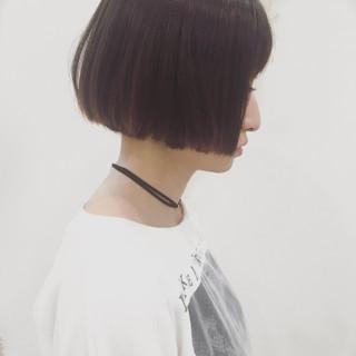 切りっぱなし 色気 ストリート 外国人風 ヘアスタイルや髪型の写真・画像