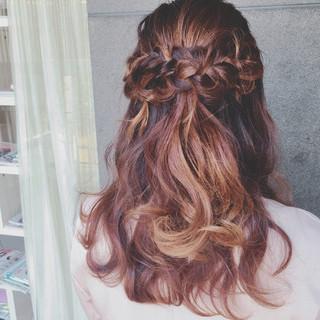 結婚式 デート 上品 ヘアアレンジ ヘアスタイルや髪型の写真・画像