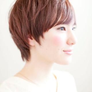 オフィス ヘアアレンジ ナチュラル 外ハネ ヘアスタイルや髪型の写真・画像
