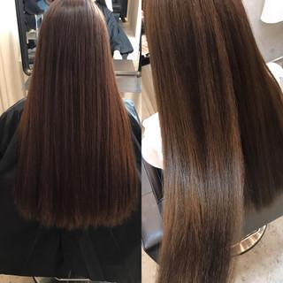 透明感 女子会 リラックス オフィス ヘアスタイルや髪型の写真・画像