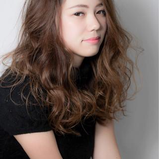 モテ髪 大人かわいい 冬 ロング ヘアスタイルや髪型の写真・画像