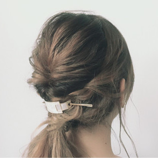 簡単 似合わせ デート ロング ヘアスタイルや髪型の写真・画像