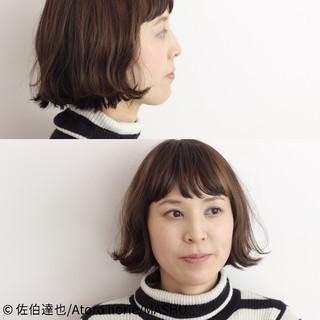 ゆるふわ 外国人風 ナチュラル ボブ ヘアスタイルや髪型の写真・画像