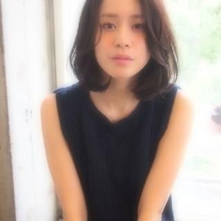 黒髪 色気 ストリート かわいい ヘアスタイルや髪型の写真・画像