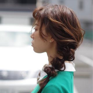ガーリー キュート ロング 夏 ヘアスタイルや髪型の写真・画像