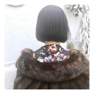 ショートボブ ボブ イメチェン ミニボブ ヘアスタイルや髪型の写真・画像