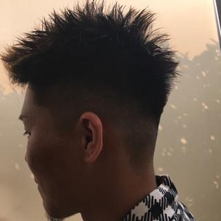 ボーイッシュ 坊主 ショート モード ヘアスタイルや髪型の写真・画像