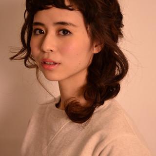 ミディアム 大人かわいい ショート ヘアアレンジ ヘアスタイルや髪型の写真・画像 ヘアスタイルや髪型の写真・画像
