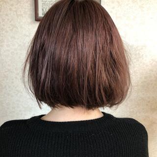 ナチュラル オレンジベージュ アプリコットオレンジ オレンジ ヘアスタイルや髪型の写真・画像